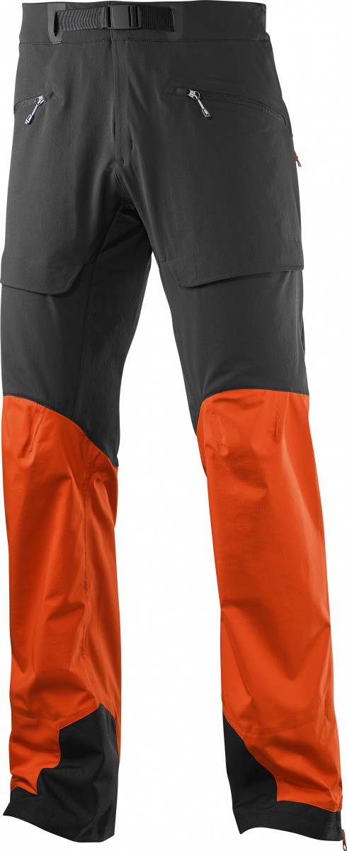 X Alp Hybrid Pant - schwarz/orange / Bild: Salomon