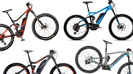6 aktuelle enduro e mountainbikes im vergleich. Black Bedroom Furniture Sets. Home Design Ideas
