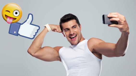 fitness selfies auf facebook ultra cool oder unn tig. Black Bedroom Furniture Sets. Home Design Ideas