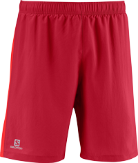 Salomon 2in1 Short red rot Citytrail Running Laufhose