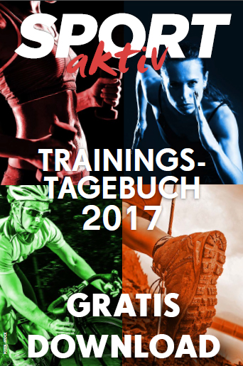 Das SPORTaktiv Trainingstagebuch 2017 als gratis Download / Bilder: iStock
