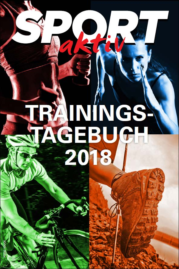 Das SPORTaktiv Trainingstagebuch 2018 als gratis Download / Bilder: iStock