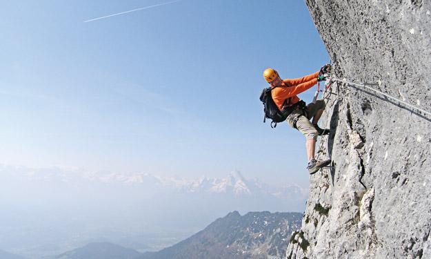 Klettersteigset Notwendig : Klettersteig: bereit für den einstieg sportaktiv.com