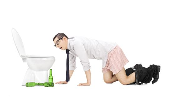 alkohol abbauen