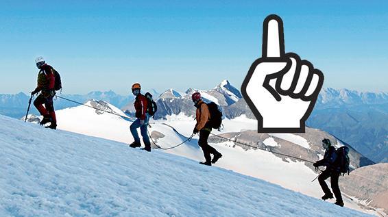 Klettergurt Für Hochtouren : Die richtige ausrüstung für hochtouren sportaktiv