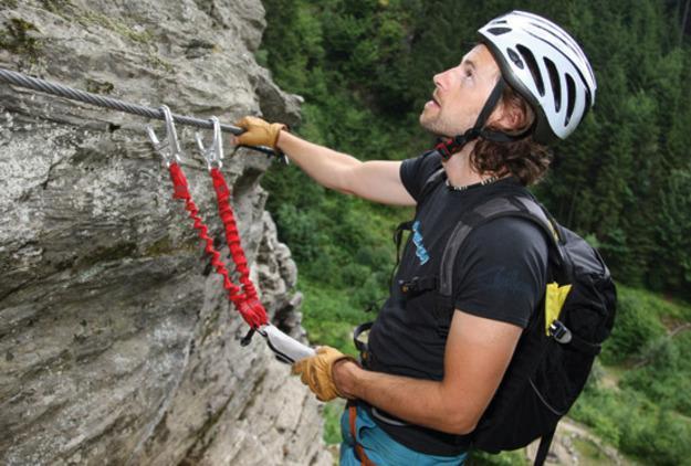 Klettersteigset Y Oder V : Steig hilfe kletterschule teil sportaktiv