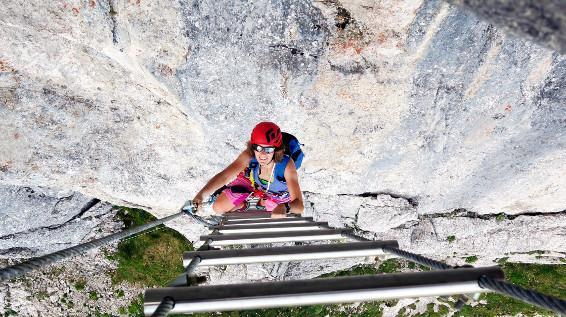Klettersteig Grade : Mit kindern am klettersteig