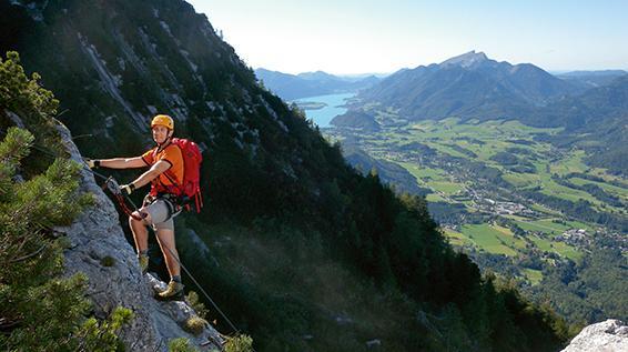 Klettersteig Oberösterreich : Kletter tipp: dieser familien klettersteig ist auch im spätherbst