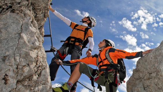Klettersteig Ramsau : Ramsauer klettersteig u ennstalwiki