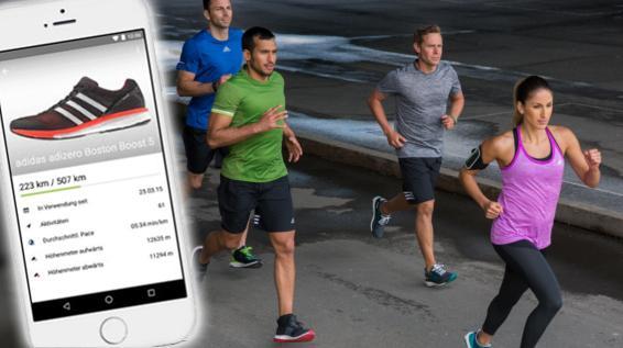 Runtastic trackt jetzt deine Laufschuhe, aber sie müssen