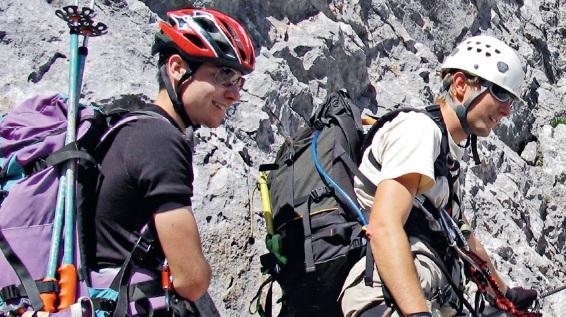 Klettersteig Schwierigkeitsgrad : Kennzeichnung und schwierigkeitsgrade von klettersteigen eine