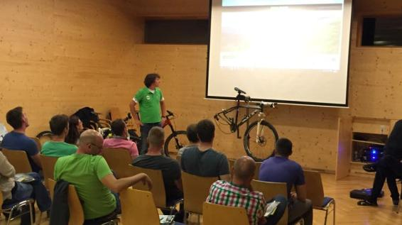 Mountainbiken in den Nockbergen: Das war das SPORTaktiv Bike Flow Camp 2015 / Bild: KK