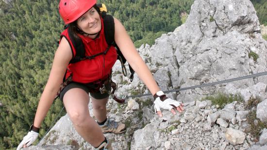 Klettersteig Outfit : Die wichtigsten benimm regeln für den klettersteig