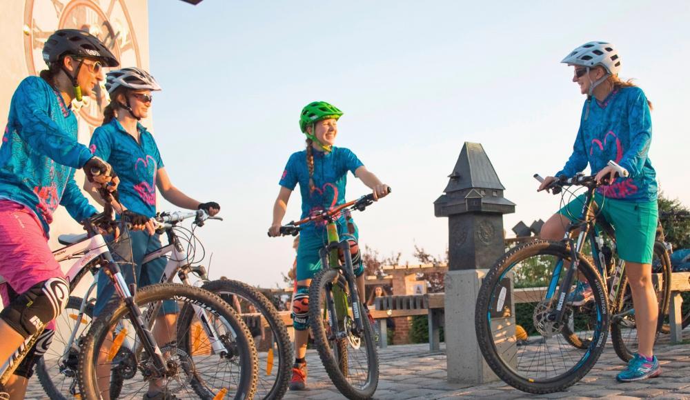 Ladylike am Bike: Der Unterschied zwischen Mann und Frau beim ...