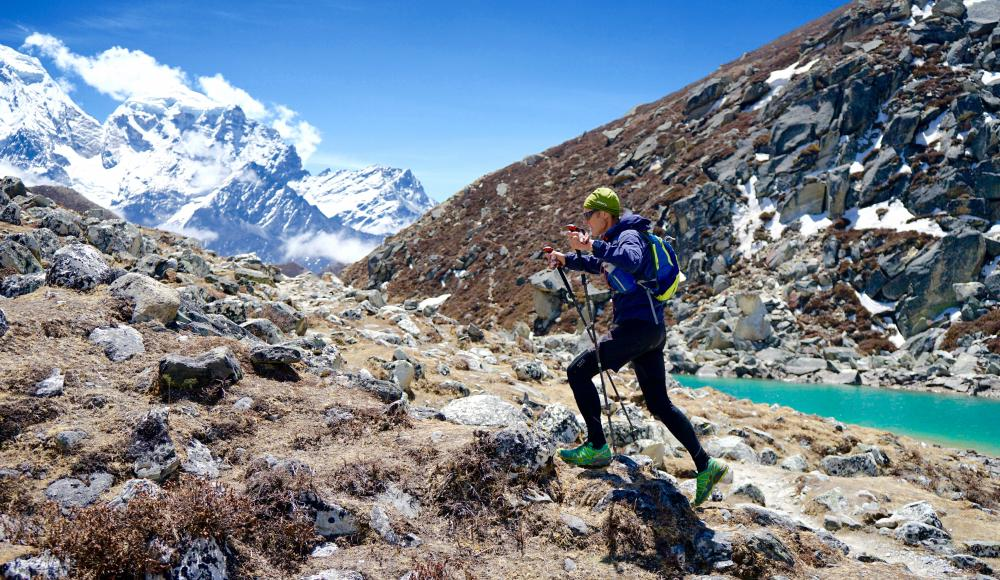 Peter Hinze am Himalaya Trailrun
