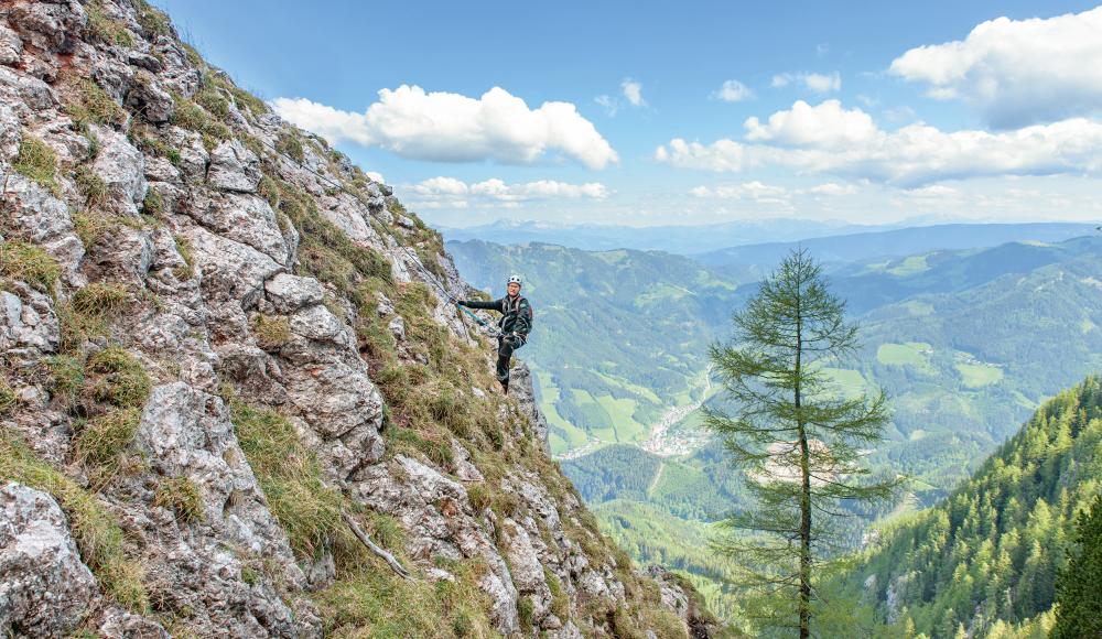 Klettersteig Für Anfänger : Live dabei als blutiger anfänger am klettersteig sportaktiv