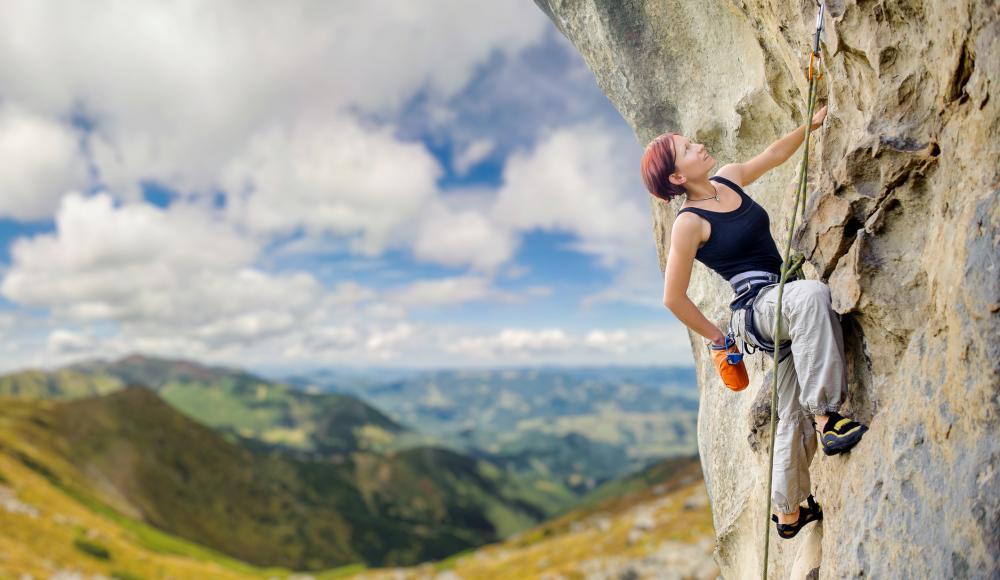 Klettersteigset Bandfalldämpfer : Petzl scorpio vertigo klettersteigset im test