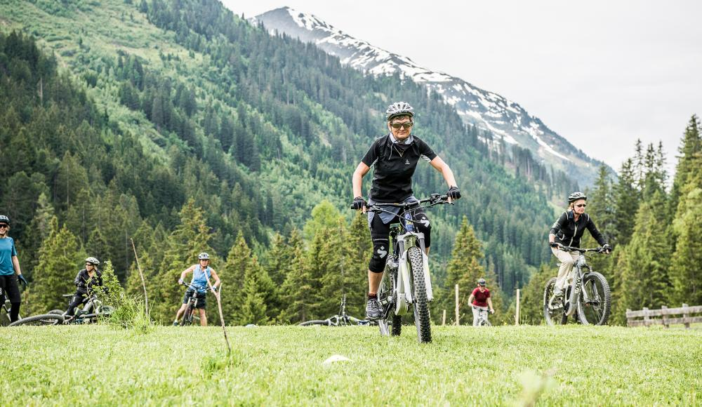 Bike-Action in St.Anton