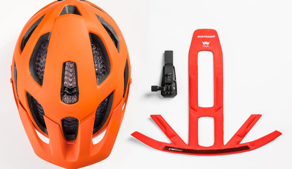 Bontrager Blaze WaveCel Helm Orange